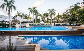 Pool Area Shangri-La Hotel Cairns