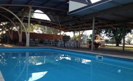 Pool at Jumbuck Motel