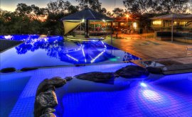 Cobbold Village Resort Pool area