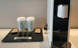 Hotel Jen Coffee machine in every room